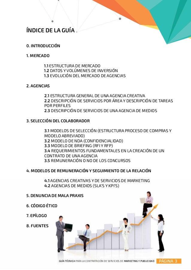 Guía técnica para la contratación de marketing y Publicidad