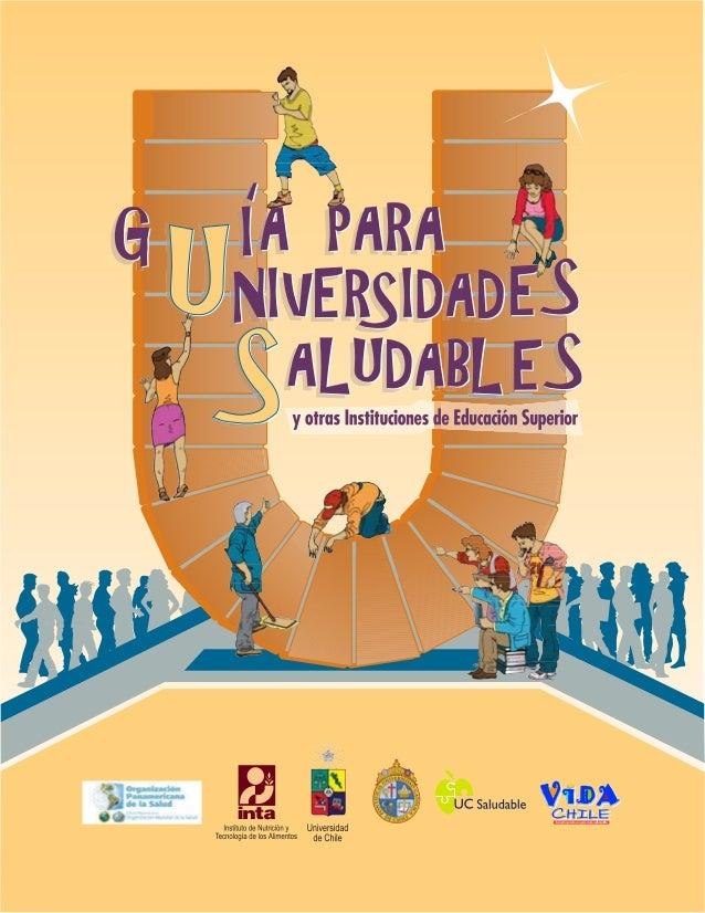 GUÍA PARA UNIVERSIDADES SALUDABLES 1