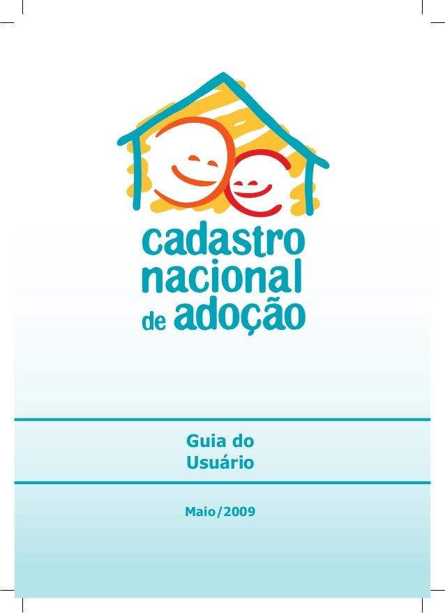 Guia do Usuário Maio/2009
