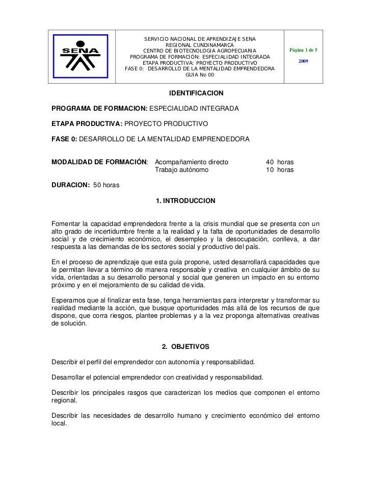 SERVICIO NACIONAL DE APRENDIZAJE SENA                                      REGIONAL CUNDINAMARCA                          ...