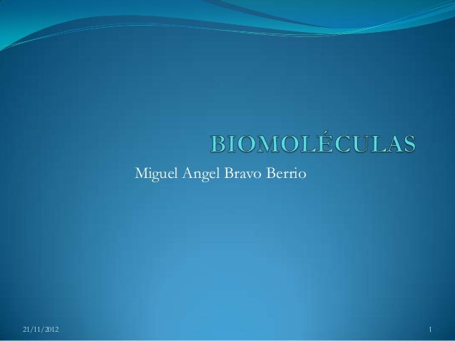 Miguel Angel Bravo Berrio21/11/2012                               1