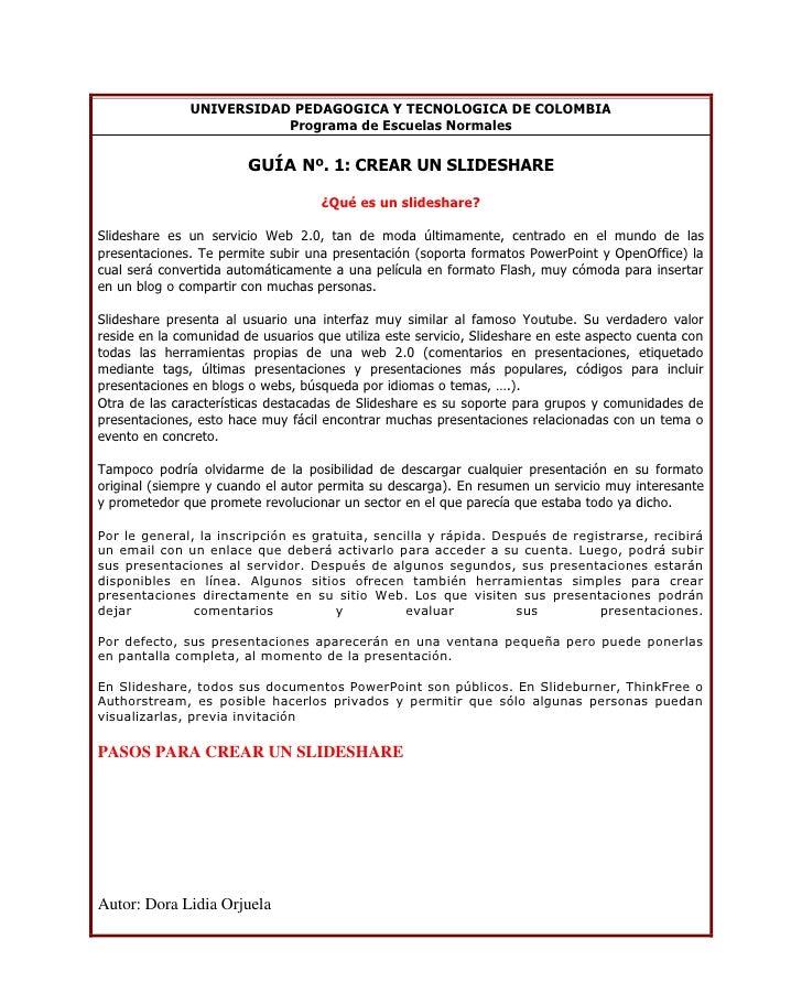 UNIVERSIDAD PEDAGOGICA Y TECNOLOGICA DE COLOMBIA                           Programa de Escuelas Normales                  ...