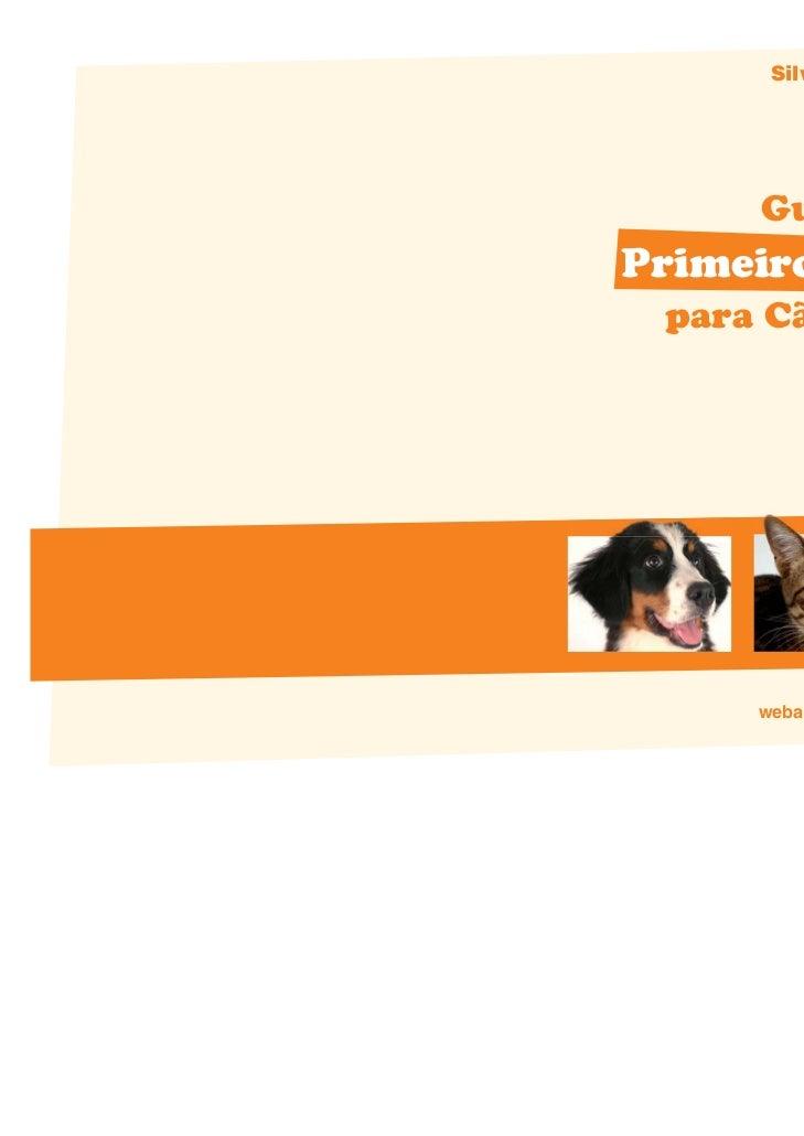 Silvia Parisi     Guia dePrimeiros Socorros para Cães e Gatos     webanimal.com.br