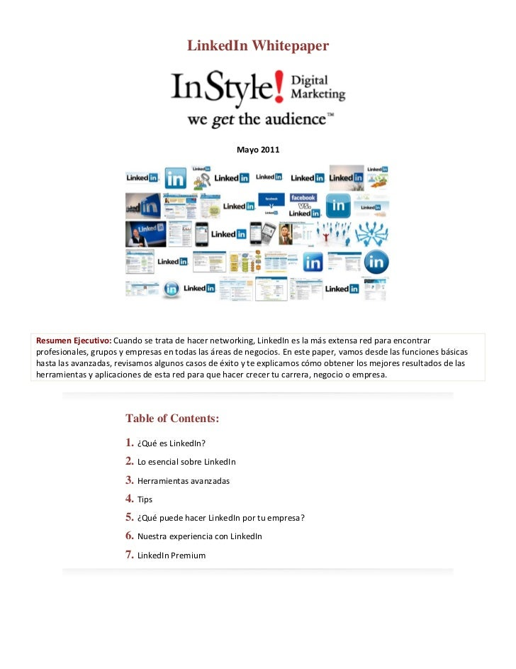 LinkedIn Whitepaper                                                                                                     ...