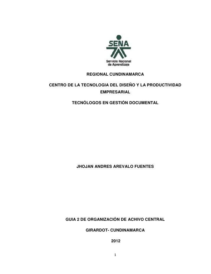 REGIONAL CUNDINAMARCACENTRO DE LA TECNOLOGIA DEL DISEÑO Y LA PRODUCTIVIDAD                    EMPRESARIAL         TECNÓLOG...