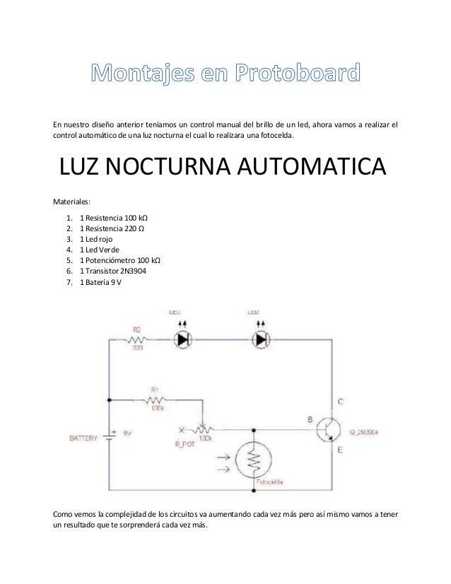 En nuestro diseño anterior teníamos un control manual del brillo de un led, ahora vamos a realizar el control automático d...