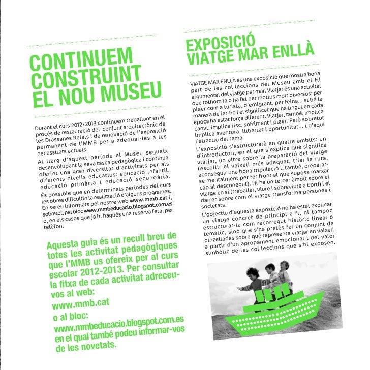 Guia activitats pedagogiques_2012-13 Slide 3