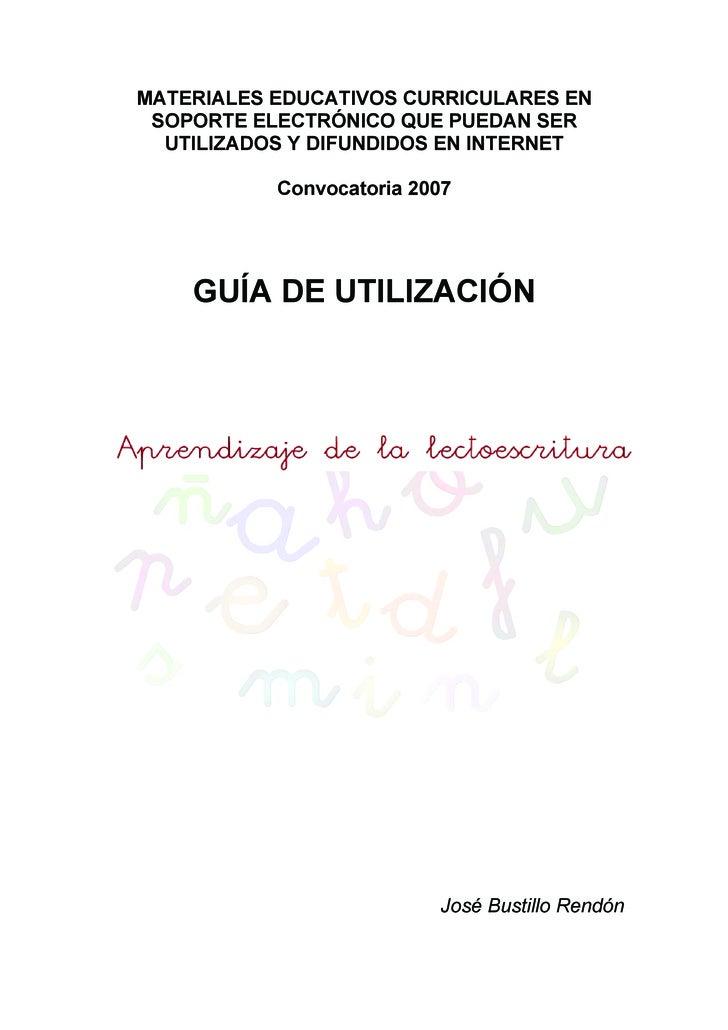 MATERIALES EDUCATIVOS CURRICULARES EN  SOPORTE ELECTRÓNICO QUE PUEDAN SER   UTILIZADOS Y DIFUNDIDOS EN INTERNET           ...