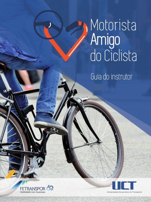 Motorista Amigodo Ciclista Guia do instrutor