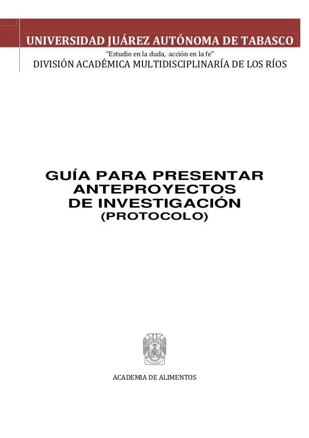 Guia anteproyecto for Guia mecanica de cocina pdf