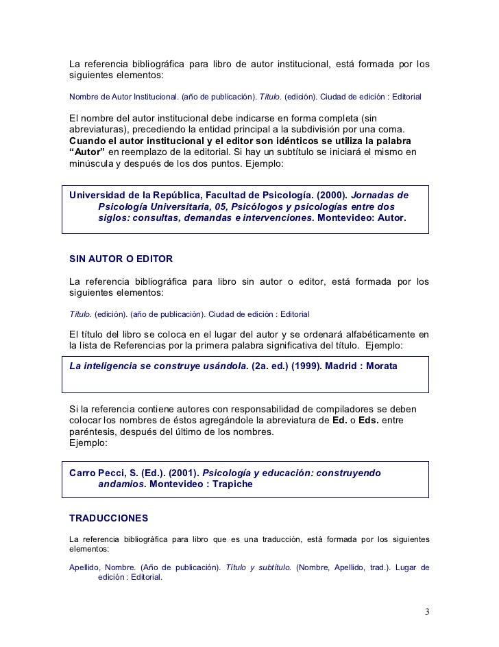 Citas Sin Autor Formato Apa Cita Sanitaria Online Especialista