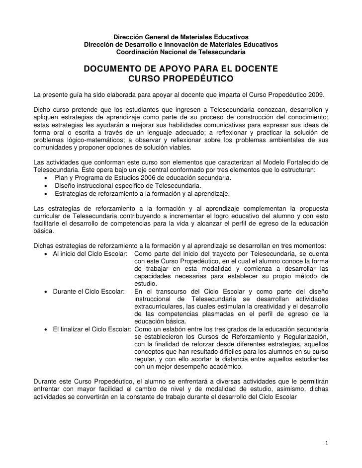 Dirección General de Materiales Educativos                  Dirección de Desarrollo e Innovación de Materiales Educativos ...