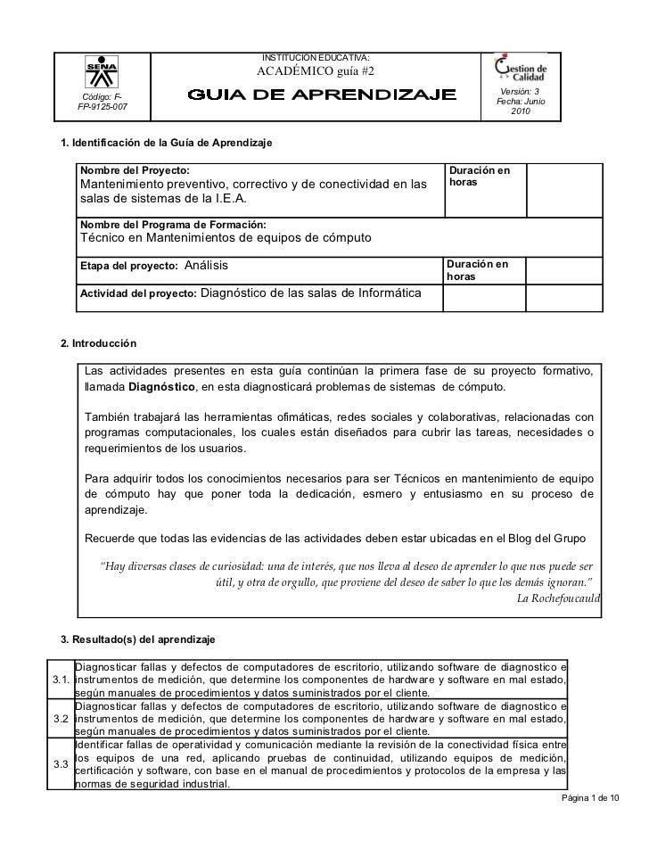 INSTITUCIÓN EDUCATIVA:                                           ACADÉMICO guía #2                                        ...