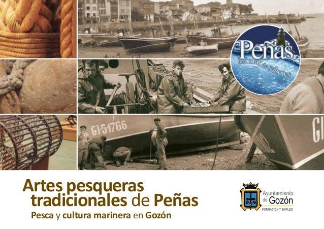 Artes pesqueras tradicionales de Peñas Pesca y cultura marinera en Gozón