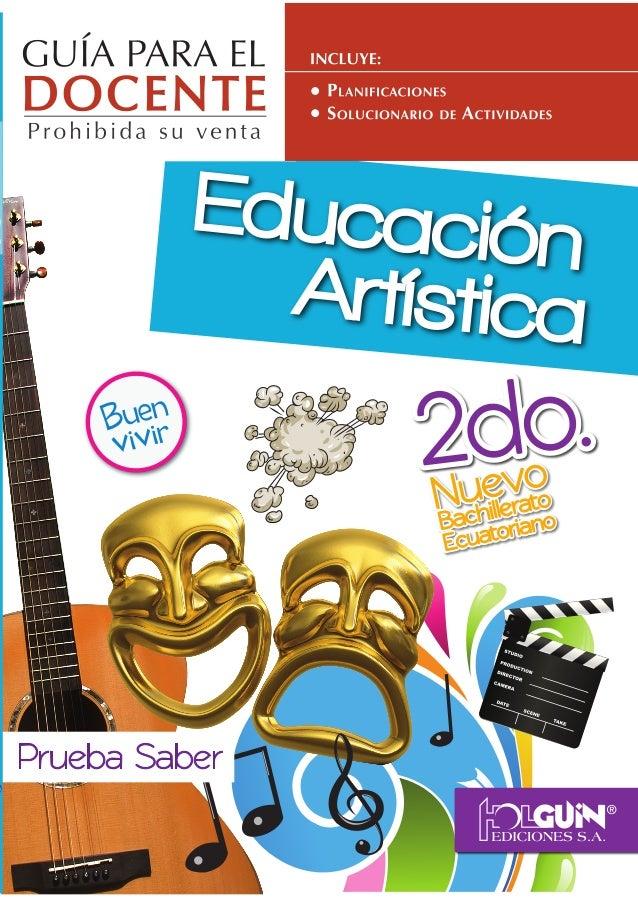 Educaci n Art stica Tercer grado - Ciclo Escolar - Centro de Descargas