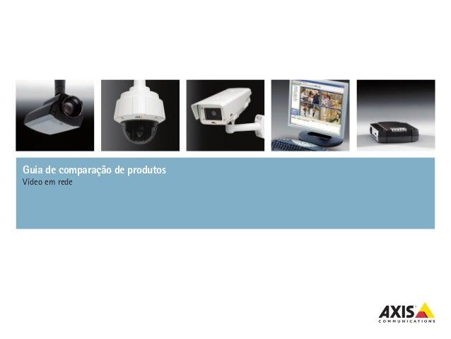 Guia de comparação de produtosVídeo em rede