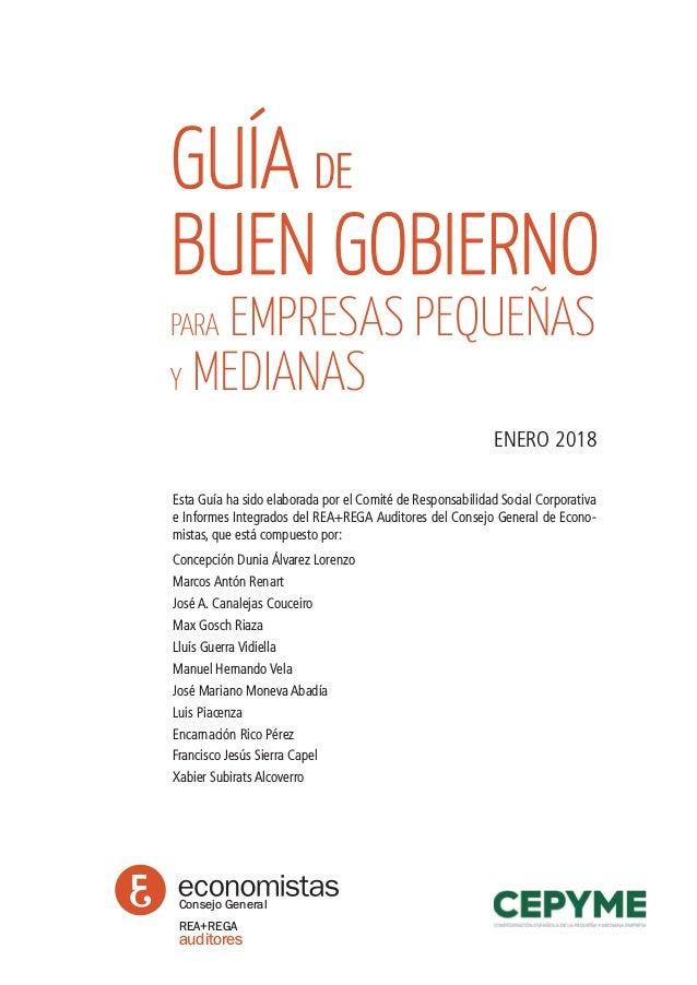 GUÍA DE BUEN GOBIERNO PARA EMPRESAS PEQUEÑAS Y MEDIANAS Slide 2