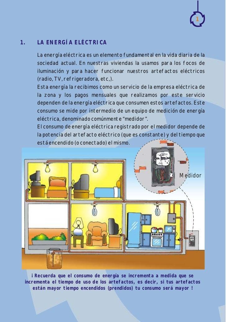 Gu a para calcular el consumo el ctrico dom stico - Aparatos para ahorrar electricidad ...