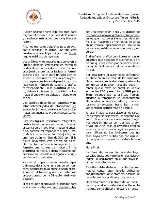 Guía cartel anáhuac 2016