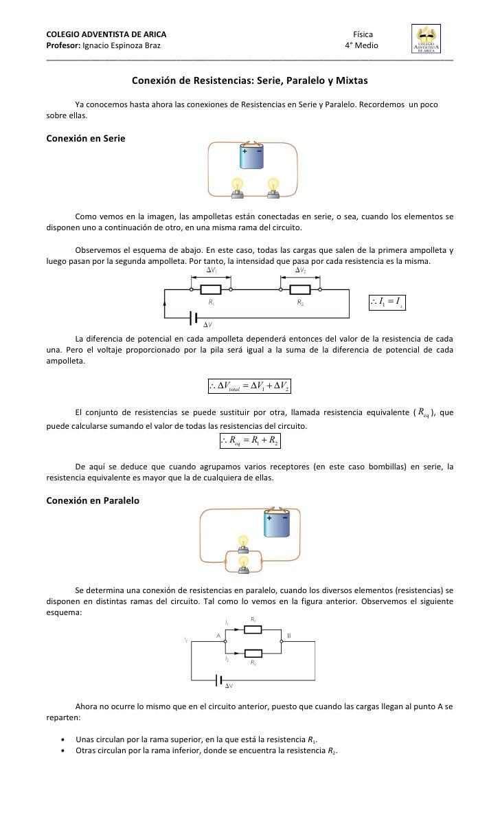 Circuito Electrico Simple : Guia circuitos eléctricos