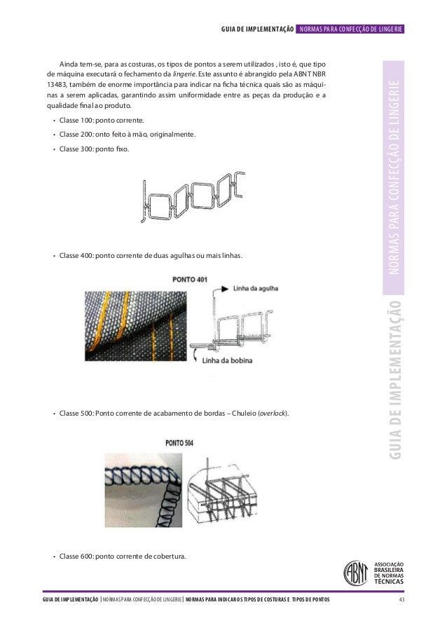 ... LINGERIEGUIA DE IMPLEMENTAÇÃO  43. b90290f5009