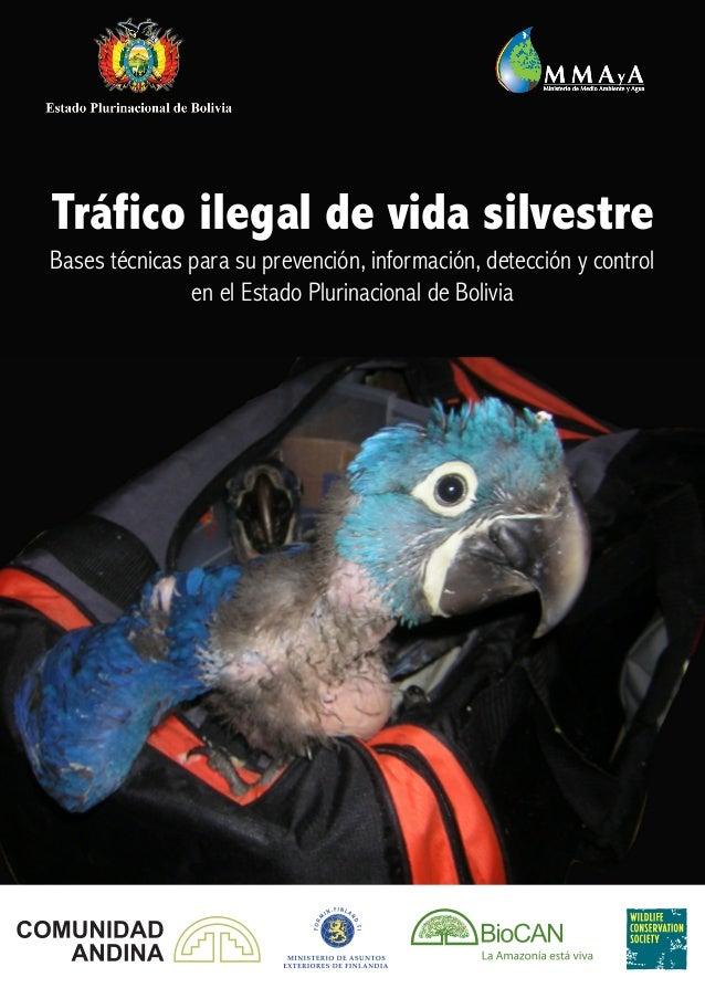 Bases técnicas para su prevención, información, detección y control en el Estado Plurinacional de Bolivia Tráfico ilegal d...