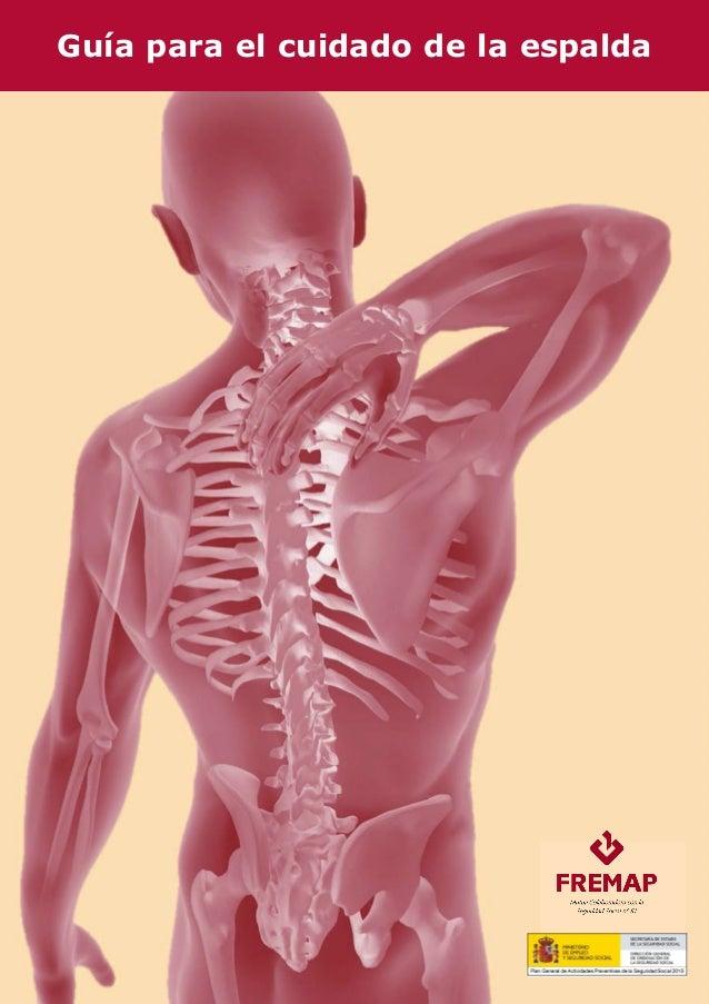 Guía para el cuidado de la espalda
