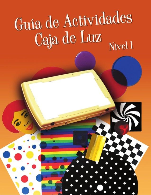 AMERICAN PRINTING HOUSEFOR THE BLIND, INC.®Guía de Actividades Caja de Luz: Nivel 1Print Grande/CD (Inglés)Número De Catál...