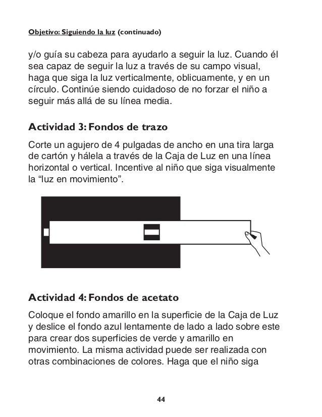 Guía de actividades caja de luz