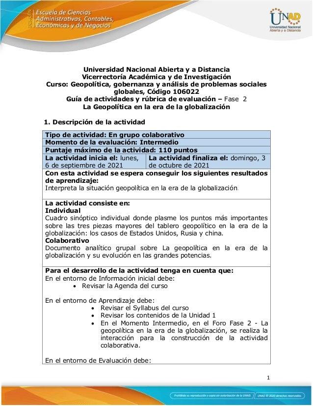 guia de actividades y rbrica de evaluacin unidad 1 fase 2 la geopoltica en la era de la globalizacin 1 1 638
