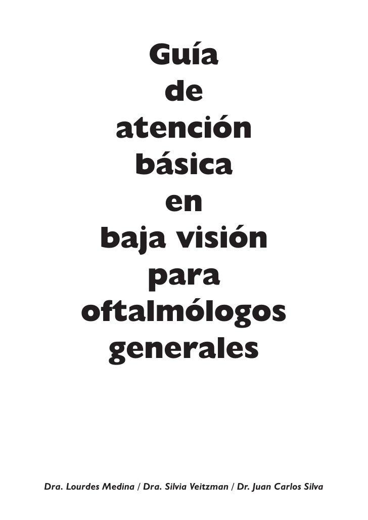 Guía              de           atención            básica              en          baja visión             para         of...