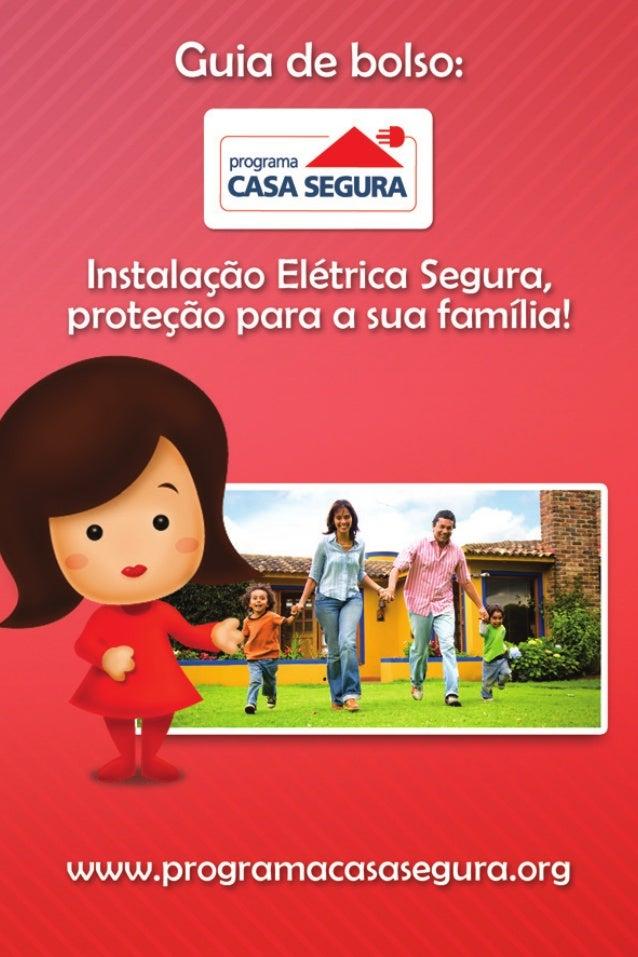 Guia de bolso: Instalação Elétrica Segura, Proteção para a sua Família