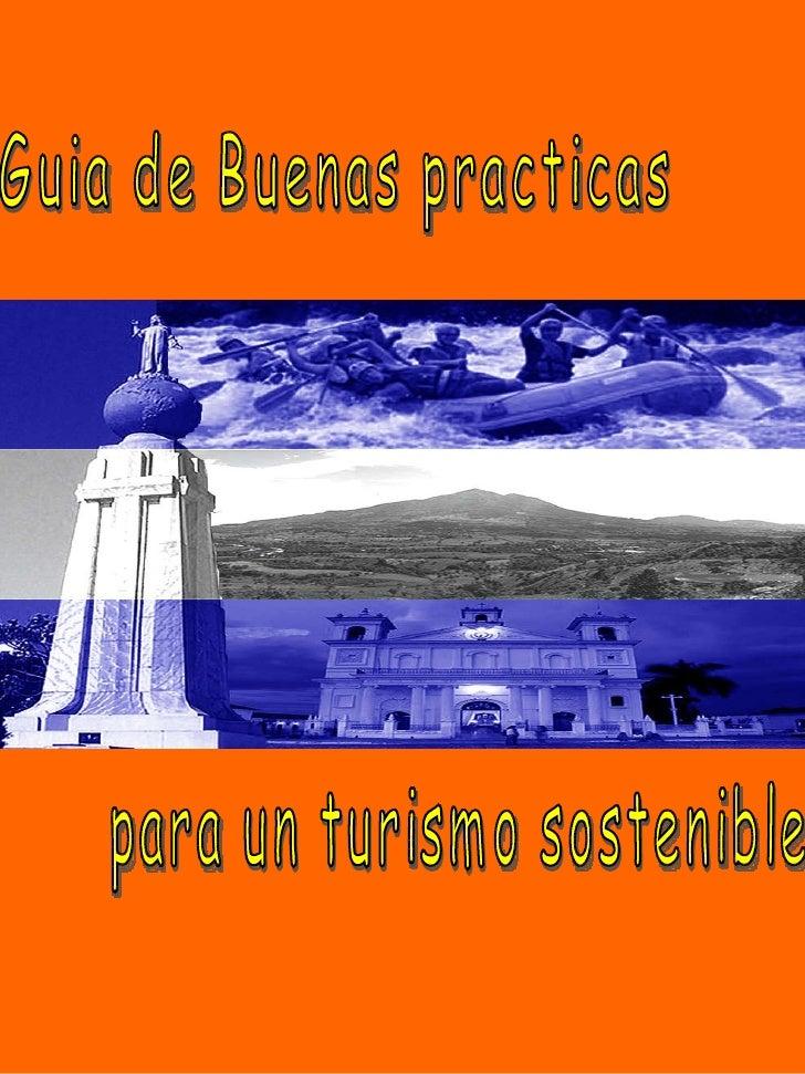 Guia de Buenas practicas para un turismo sostenible