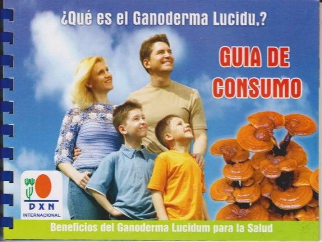 Guia de consumo ganoderma