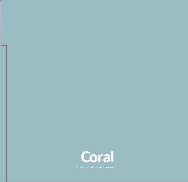 Coral Azul Tinta ~ Guia de cores Coral