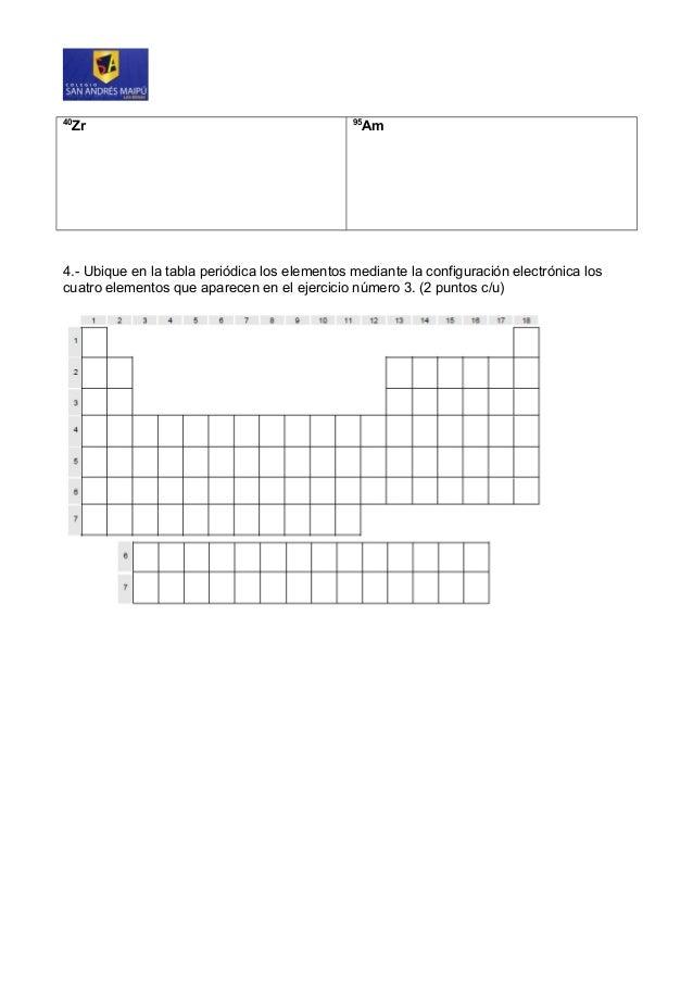 Guia de ejercicios 1 configuracion electronica y tabla periodica urtaz Gallery