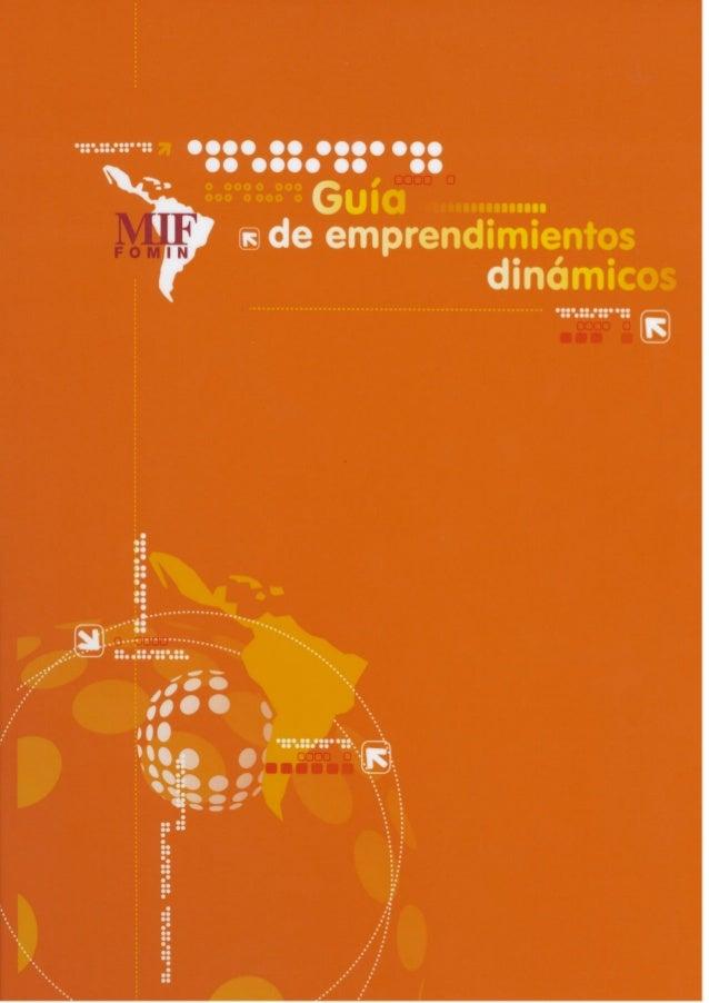 INTRODUCCIÓN                 Emprendimientos dinámicos                              ¿Qué se denomina Emprendimiento Dinámi...