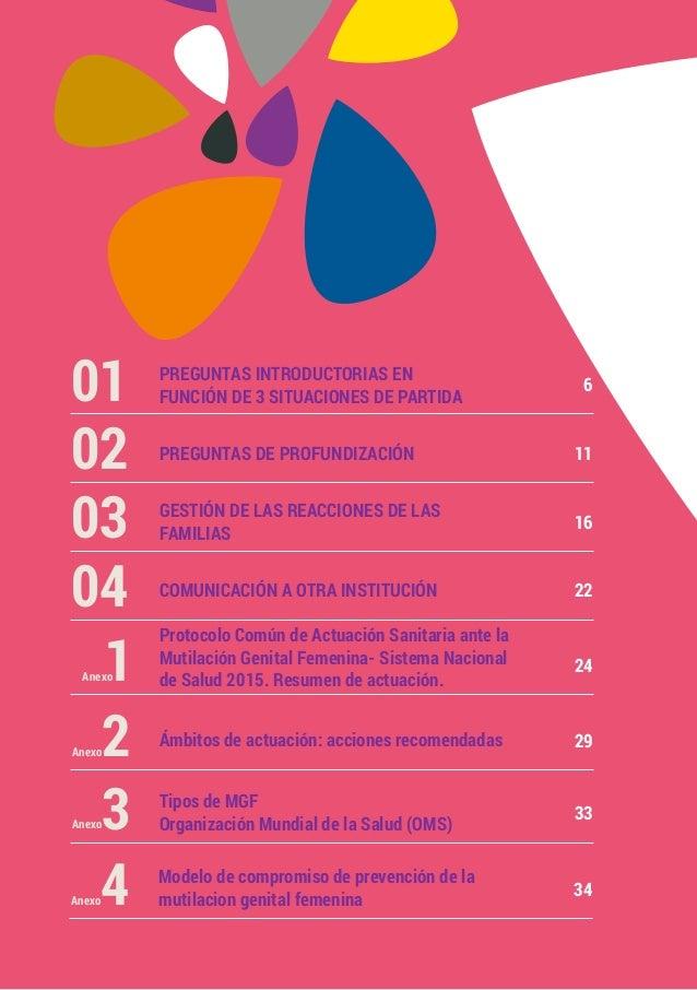 Guía Para Abordar La Mutilación Genital Femenina En Las Entrevistas C