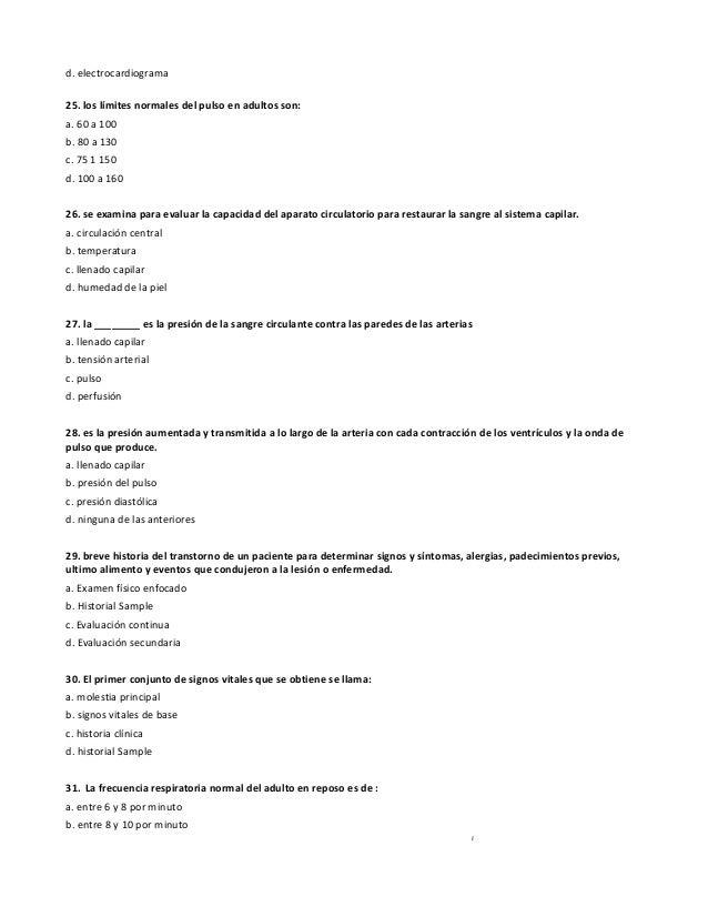 Encantador Prueba De Evaluación De La Anatomía Acc Patrón - Anatomía ...