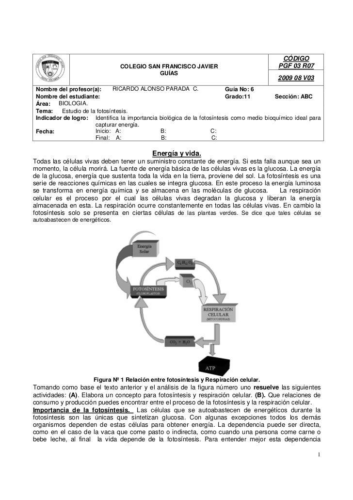 CÓDIGO                                COLEGIO SAN FRANCISCO JAVIER                                PGF 03 R07              ...