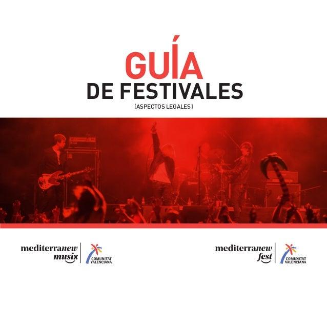 GU A DE FESTIVALES(ASPECTOS LEGALES)