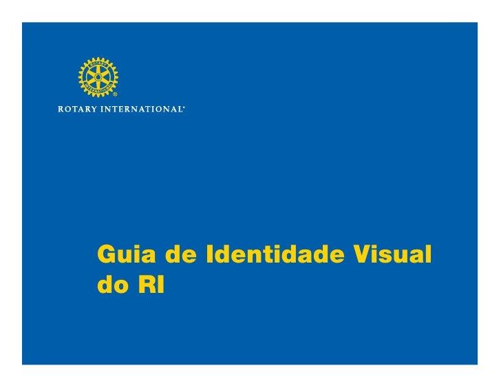 Guia de Identidade Visual do RI