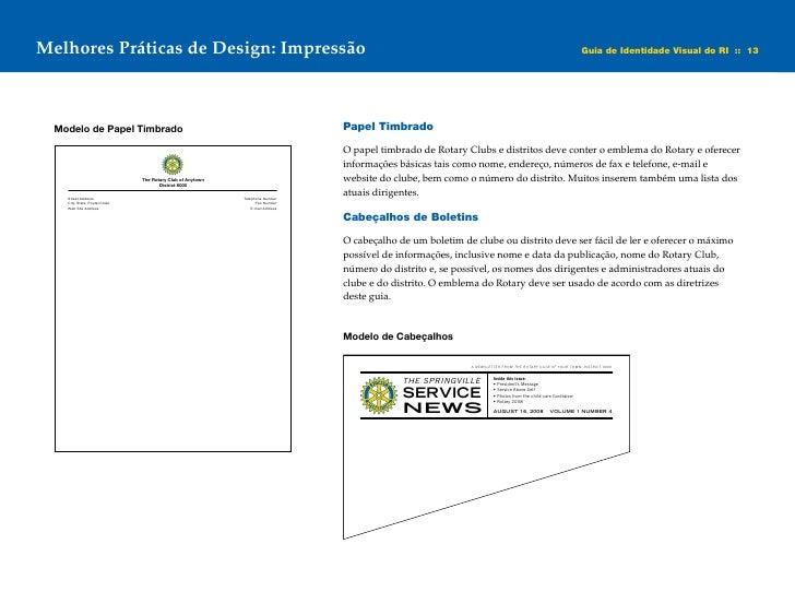 Guia De Identidade Visual Rotary