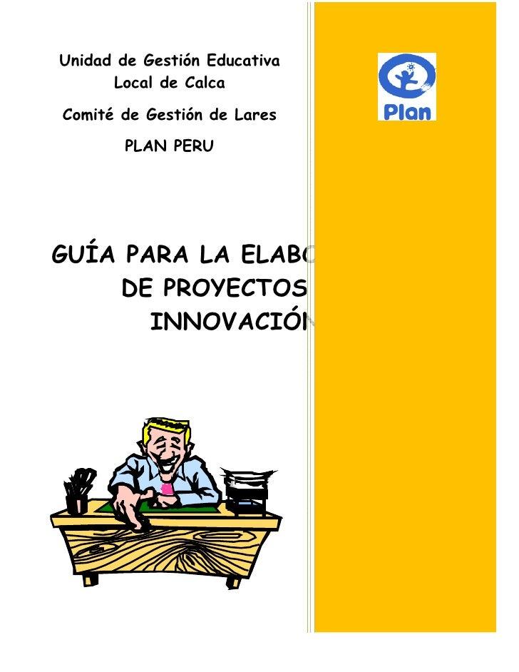 Unidad de Gestión Educativa                                                           Local de Calca                  ...
