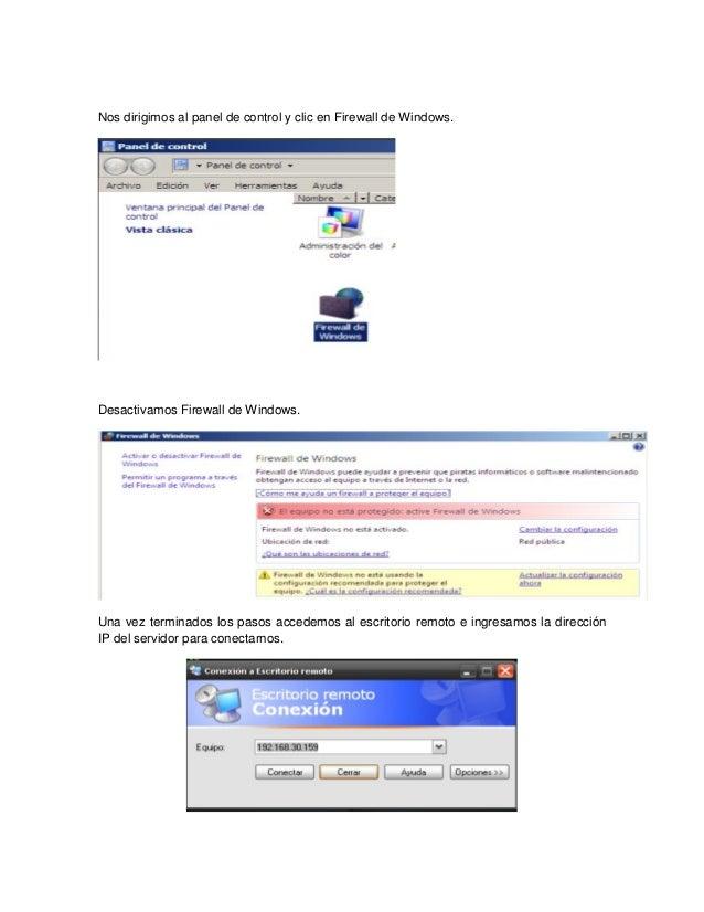 Guia de instalaci n de ssh en windows server 2008 - Reiniciar escritorio remoto ...
