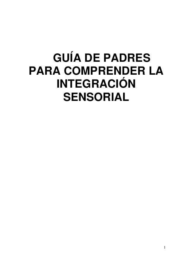 Guia de integracion sensorial para padres