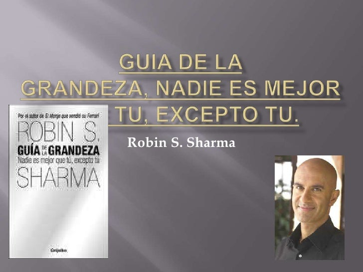 Robin S. Sharma