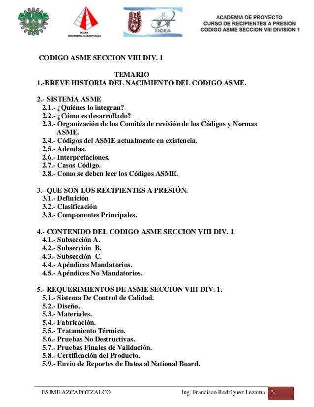 Guia del codigo asme seccion viii division 1 tomo 1 - Asme viii div 1 ...