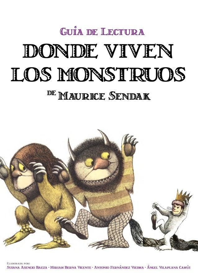 Guía de lectura donde viven los monstruos