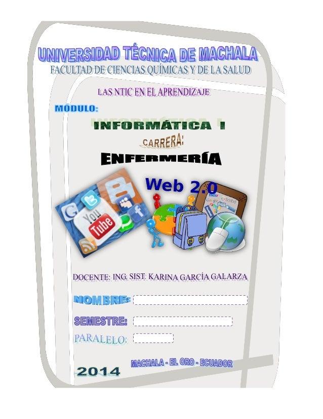 UNIVERSIDAD TÉCNICA DE MACHALA  FACULTAD DE CIENCIAS QUÍMICAS Y DE LA SALUD  CARRERA DE ENFERMERÍA  DOCENTE: ING. SIST. KA...